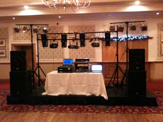 The mobile Dj lightshow...The 5th hip hop element?... I think so..