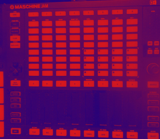Note mode in Maschine Jam