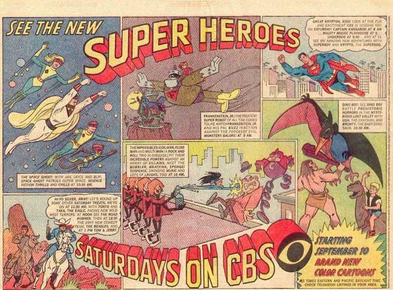 The September Saturday Morning Cartoon Carnival