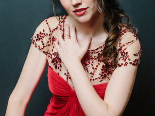 A photoshoot and interview with soprano, Molly Netter