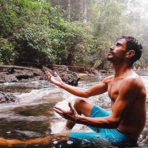 Na floresta amazõnica