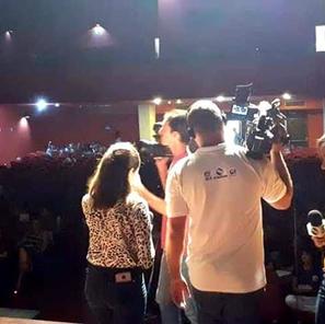 Coletiva de imprensa para TVs Sergipanas