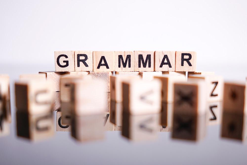 Grammar terms explained