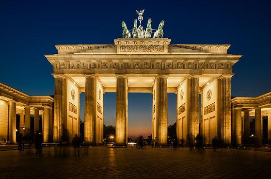 Berlin Brandenburg Gate Backdrop of Germ