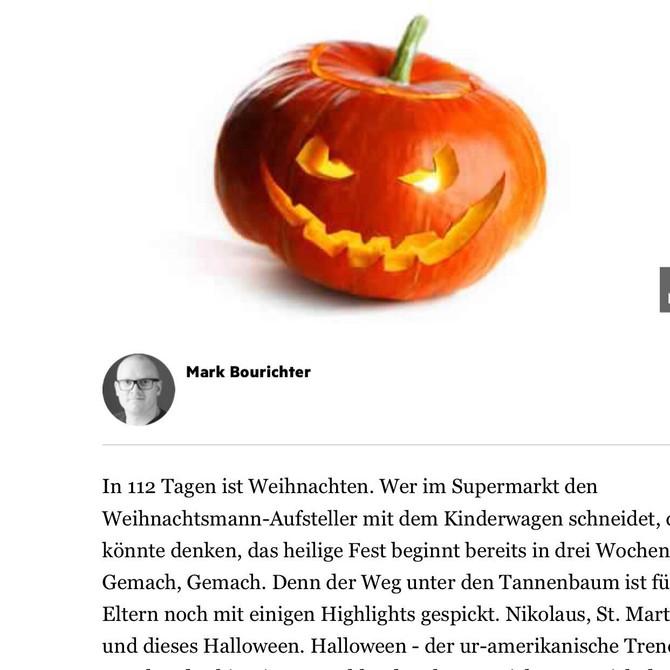 Feiert man Halloween in Deutschland?
