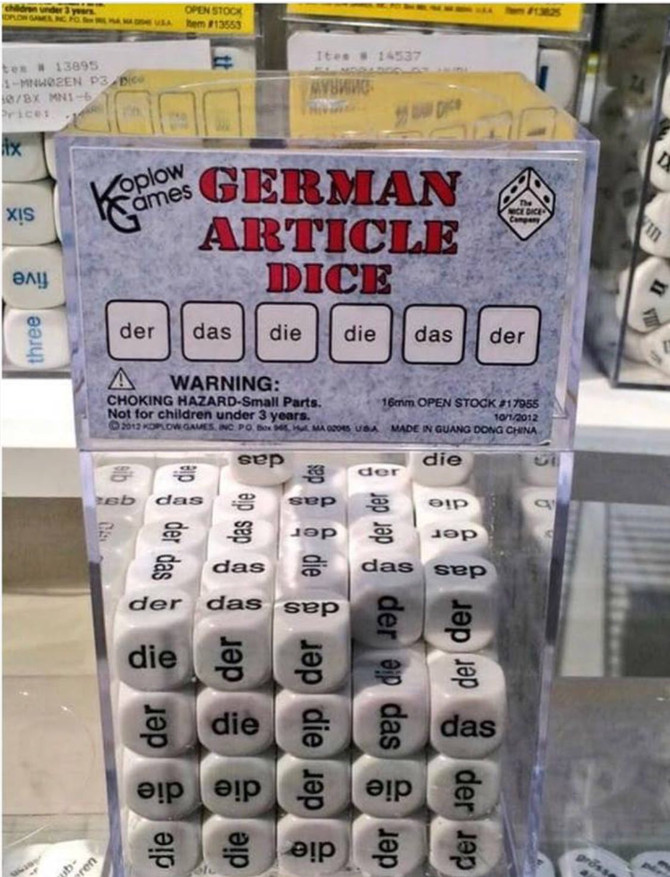 Learn German properly