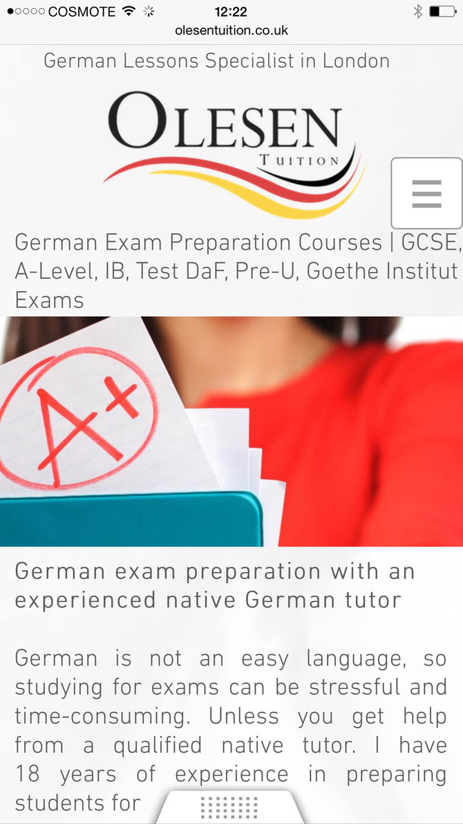 A-Level German Tutor in London and via Skype