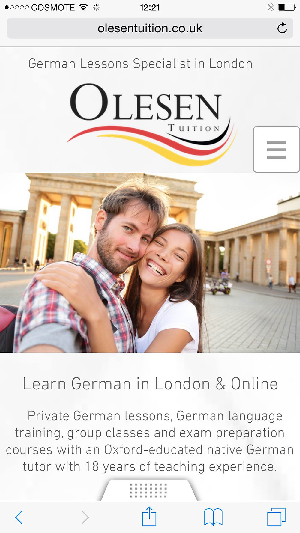 Private German Teacher London