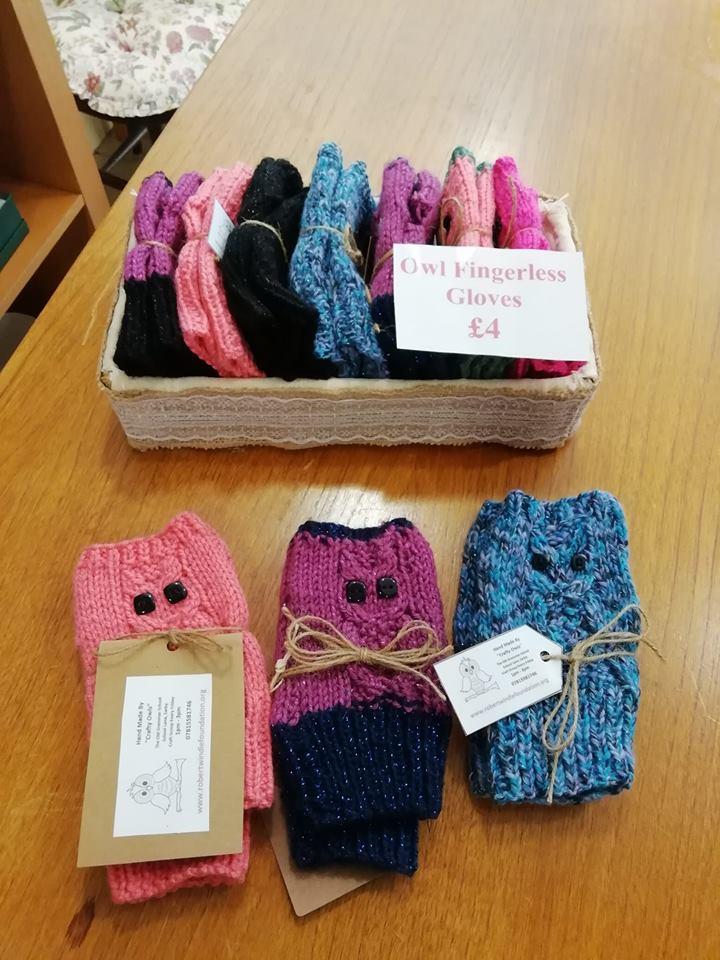 Fingerless gloves for the autumn!