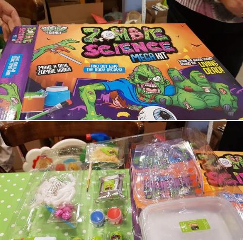 Zombie science mega kit