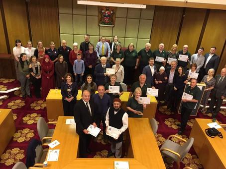 Pendle's Mayor Commendation Award