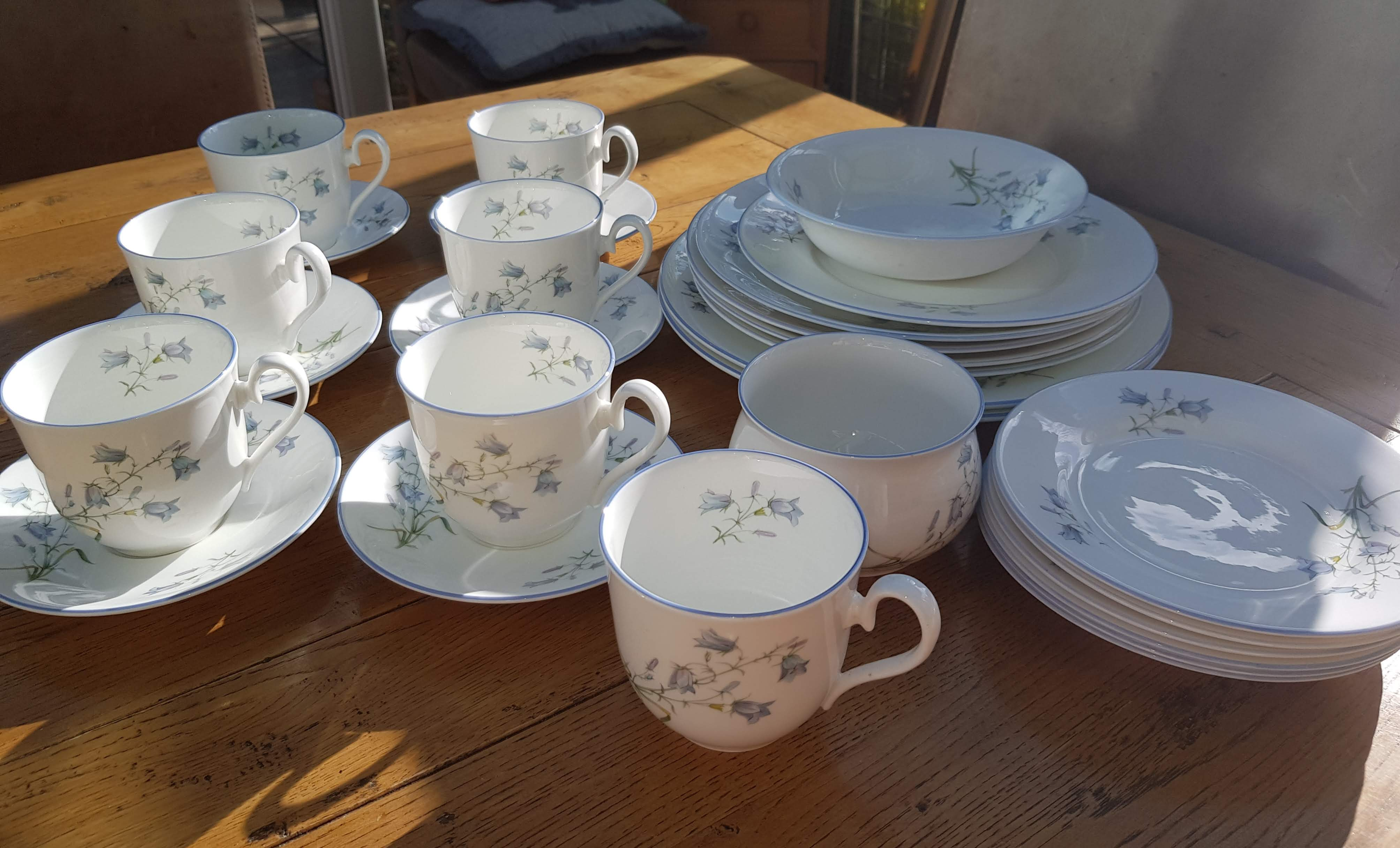 Elizabethan Moorland Cups and Plates