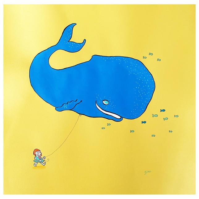 La baleine et la gamine II