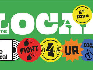 For The Local is an online festival raising funds for the NHS & independent venues