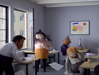 Calling for change through stop-motion: Let's Drop the Motherhood Penalty