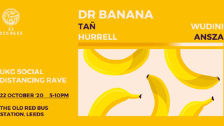 Dr Banana Returns to Leeds for Socially-Distanced UKG Special Alongside Tañ, Hurrell and More