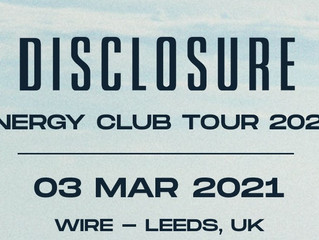 Disclosure Announce That They Are Playing At Wire