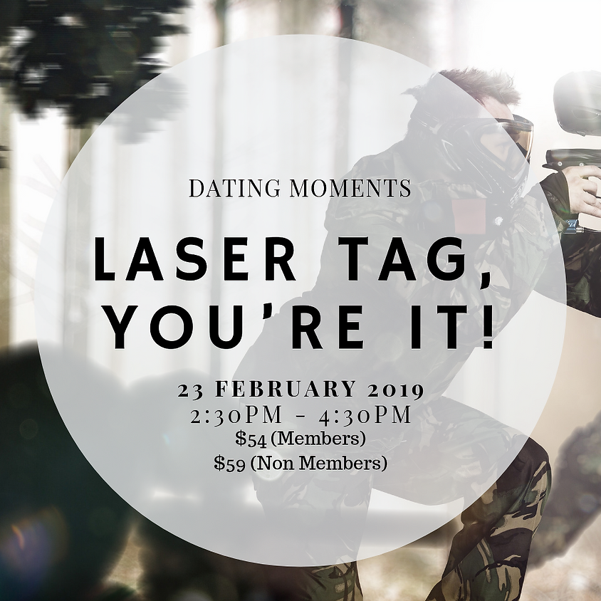 Laser Tag, you're it!