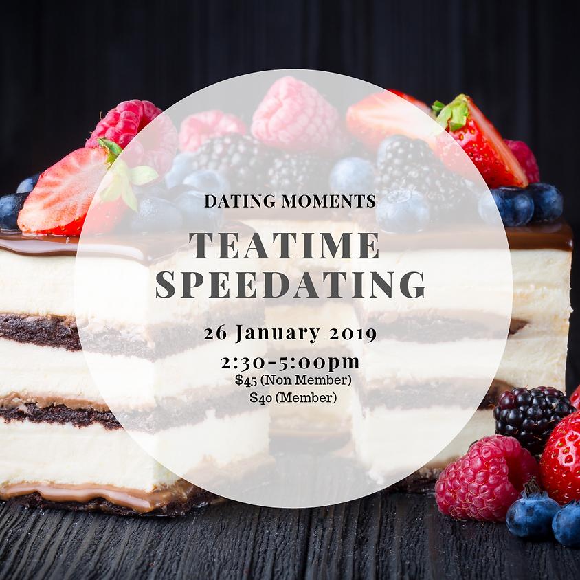 Teatime Speedating