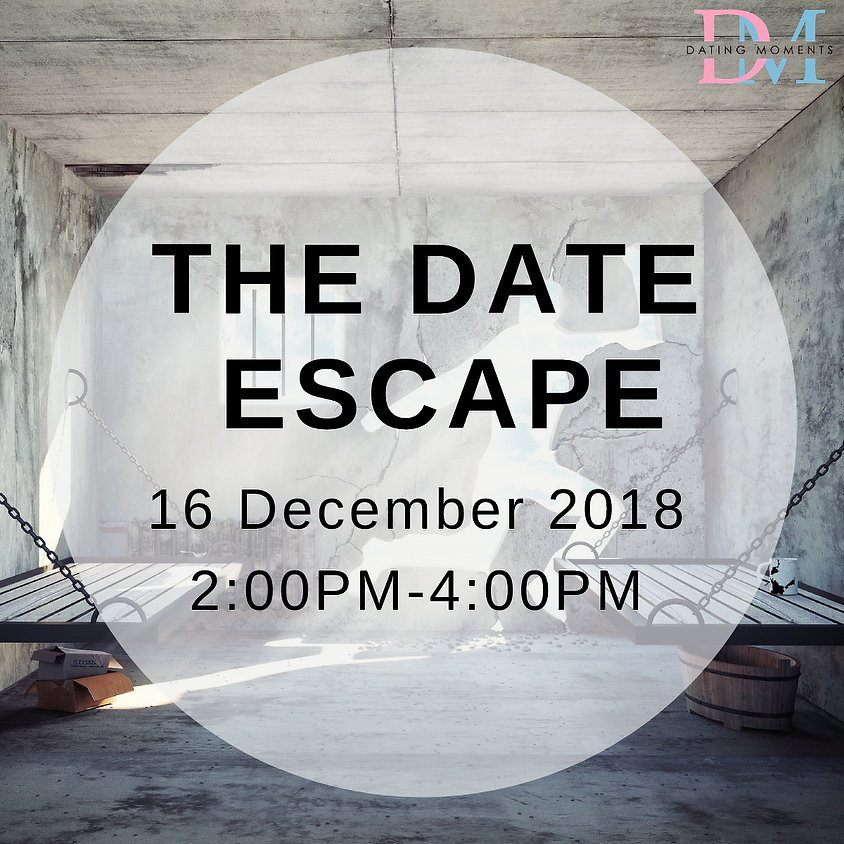 The Date Escape (ESCAPE ROOM) LAST SLOT FOR ONE LADY