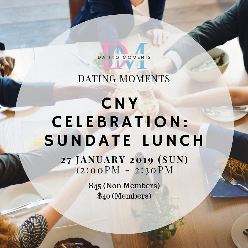 CNY Celebration: Sundate Lunch