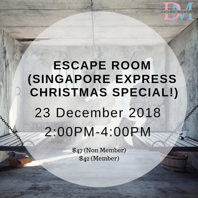 Escape Room (Singapore Express Christmas Special!)