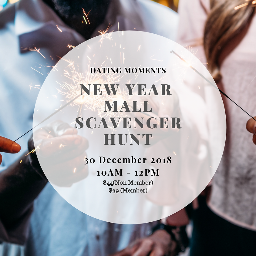 New Year Celebration : Mall Scavenger Hunt