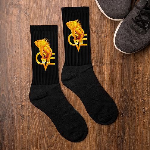 GVE- IGGY Black Foot  Socks