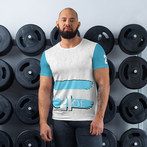 GVE - Limited Edition '21 All-Over Print Men's Athletic T-Shirt