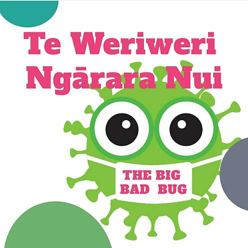 The Big Bad Bug Bilingual childrens book