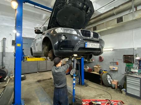 Ремонт ходовой части BMW X3 F25
