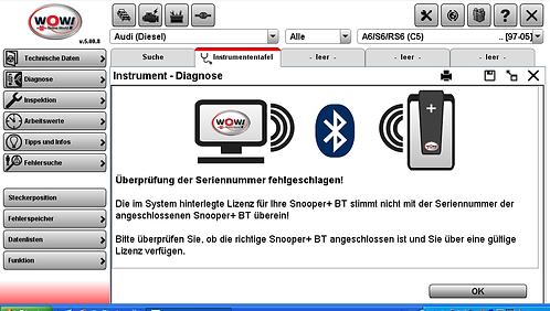 Установка программы диагностики WOW (встроена Autodata) для работы с автосканера