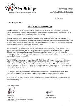 VP Letter of thanks - GlenBridge.png