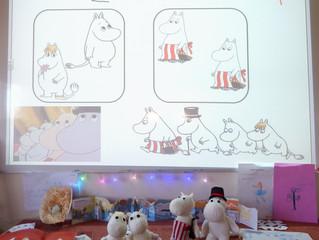 Reception love The Moomins!