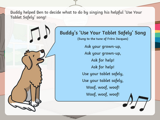 Internet Safety with Buddy the Dog
