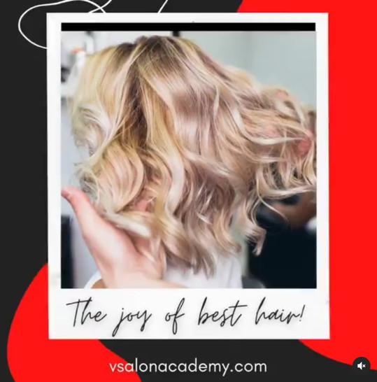 V Salon Academy Instagram