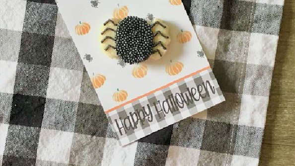 Mini Spider Cookie -- PICK UP 10/23 after 2pm