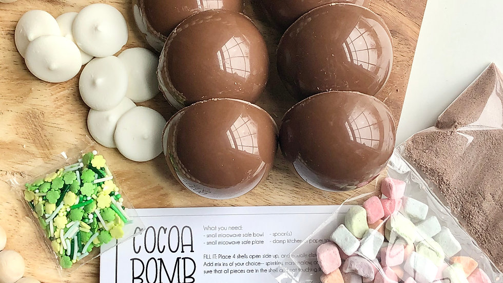Make You Own Cocoa Bomb Kit