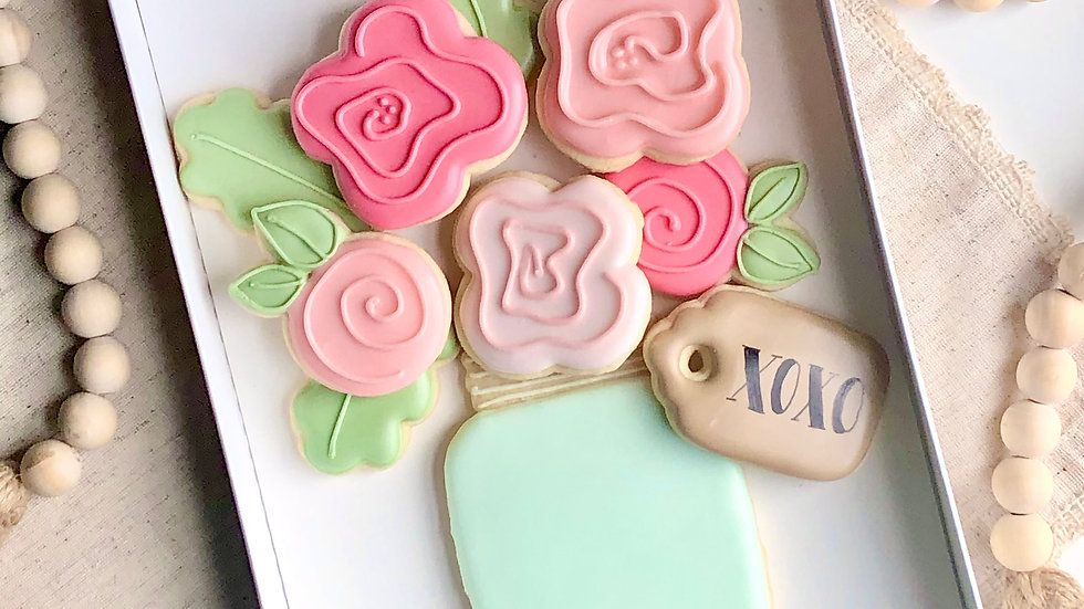 Cookie Bouquet Gift Set