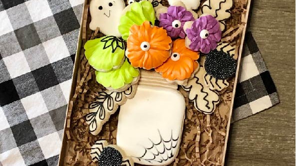Boo-quet Cookie Platter -- PICK UP 10/23 after 2pm