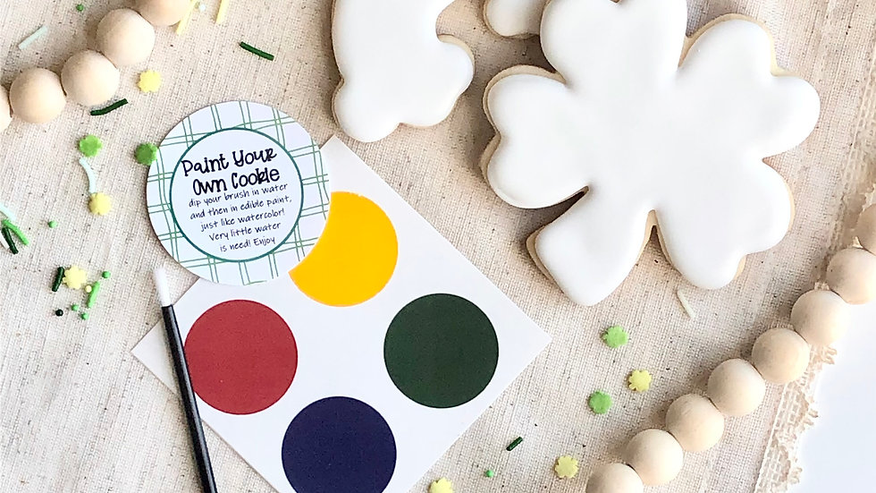 Paint Your Own Cookies Set