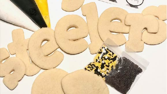 Steeler Cookie Decorating Kit- Pick Up 10/23 after 2pm
