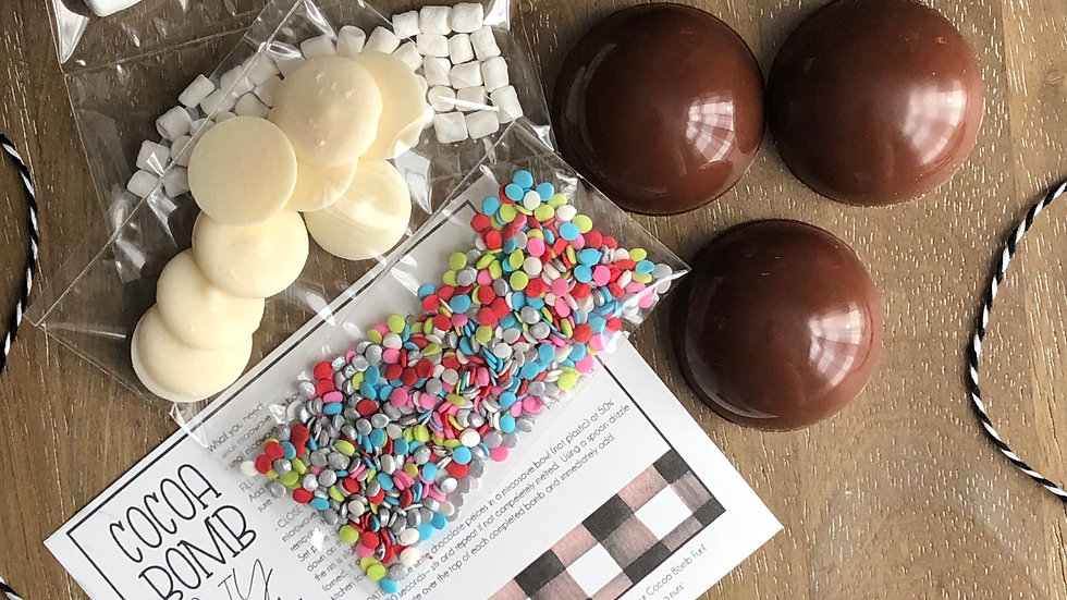 Make Your Own Cocoa Bomb Kit