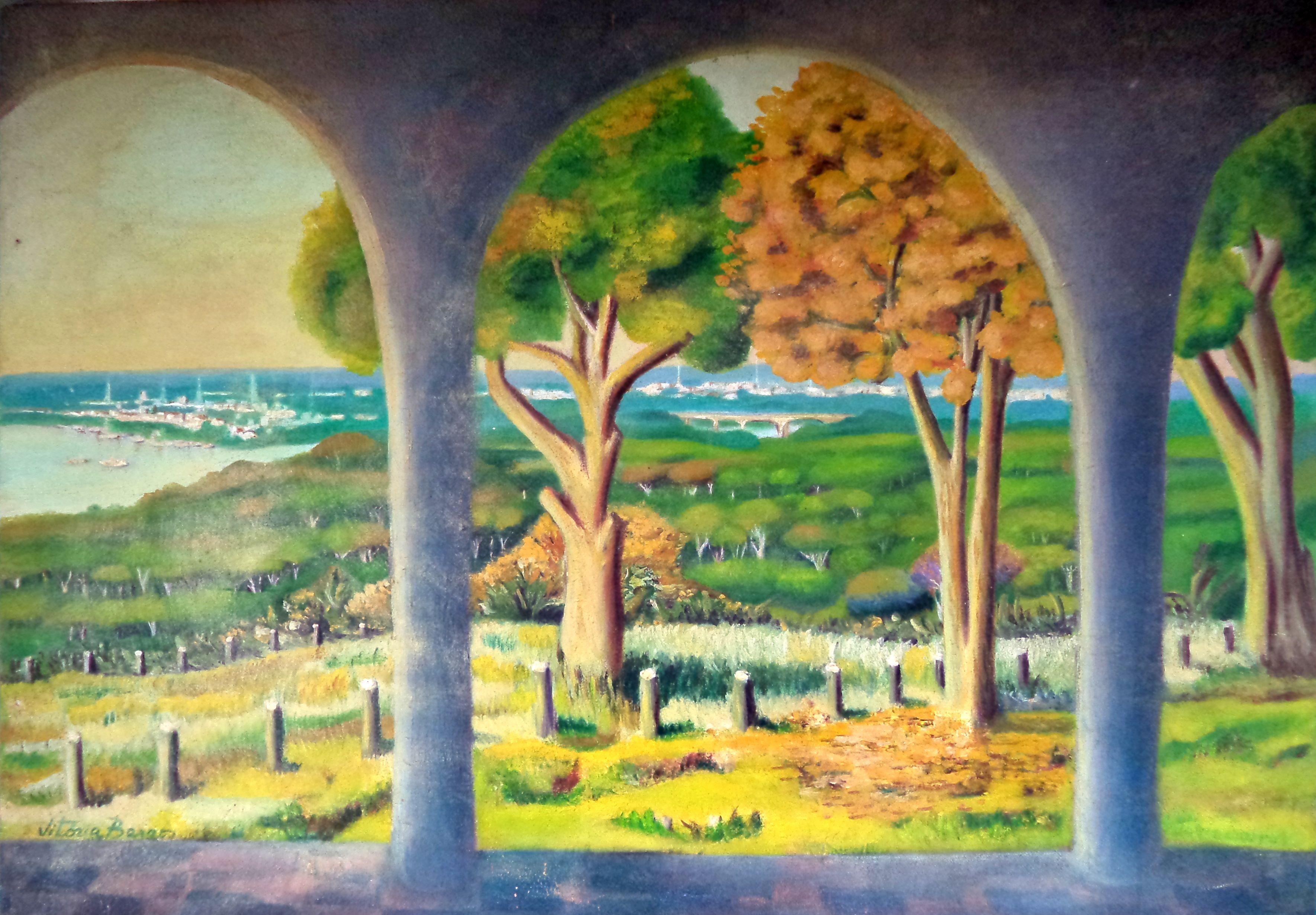 Vitoria_Barros_-_Guará,1999._Pintura_a_óleo,_70x50