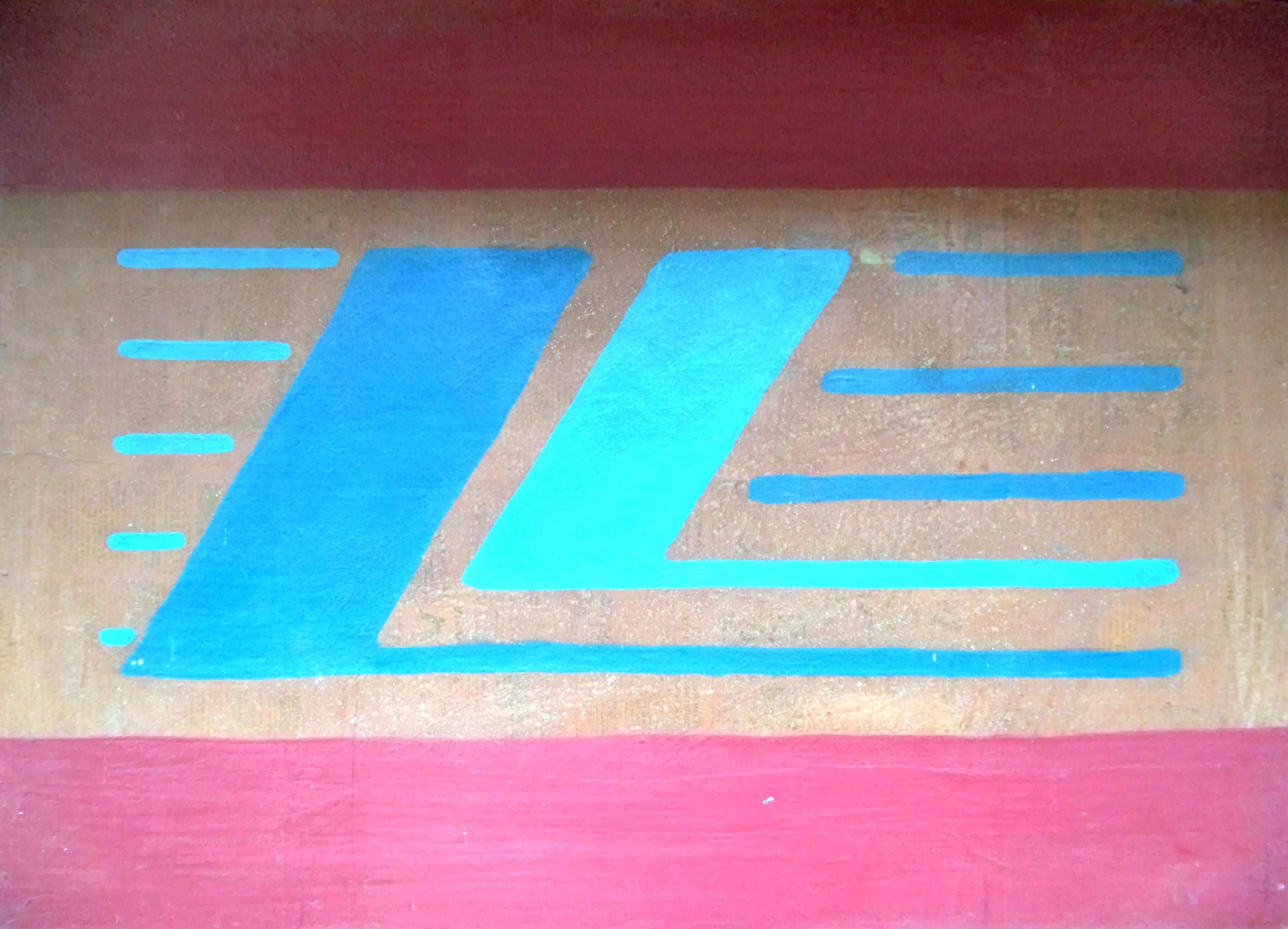 Marcone_Moreira_-_Grafismo_abstrato,_2002._Acrílica_s_eucatex,_61x85cm.