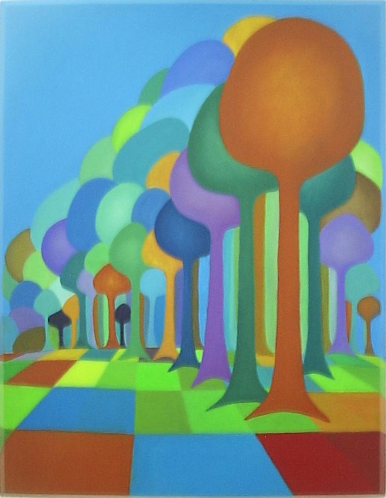 Vitoria_Barros_-_Avenida,_2004,_Série_árvores._Óleo_s_tela,_80x60_cm