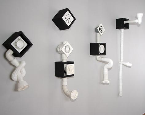 Vitória Barros - Espaços de fuga, 2006. Instalação