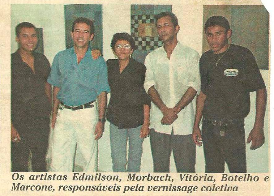 Fotografia do Jornal Correio do Tocantins, em 12-14/03/2002.