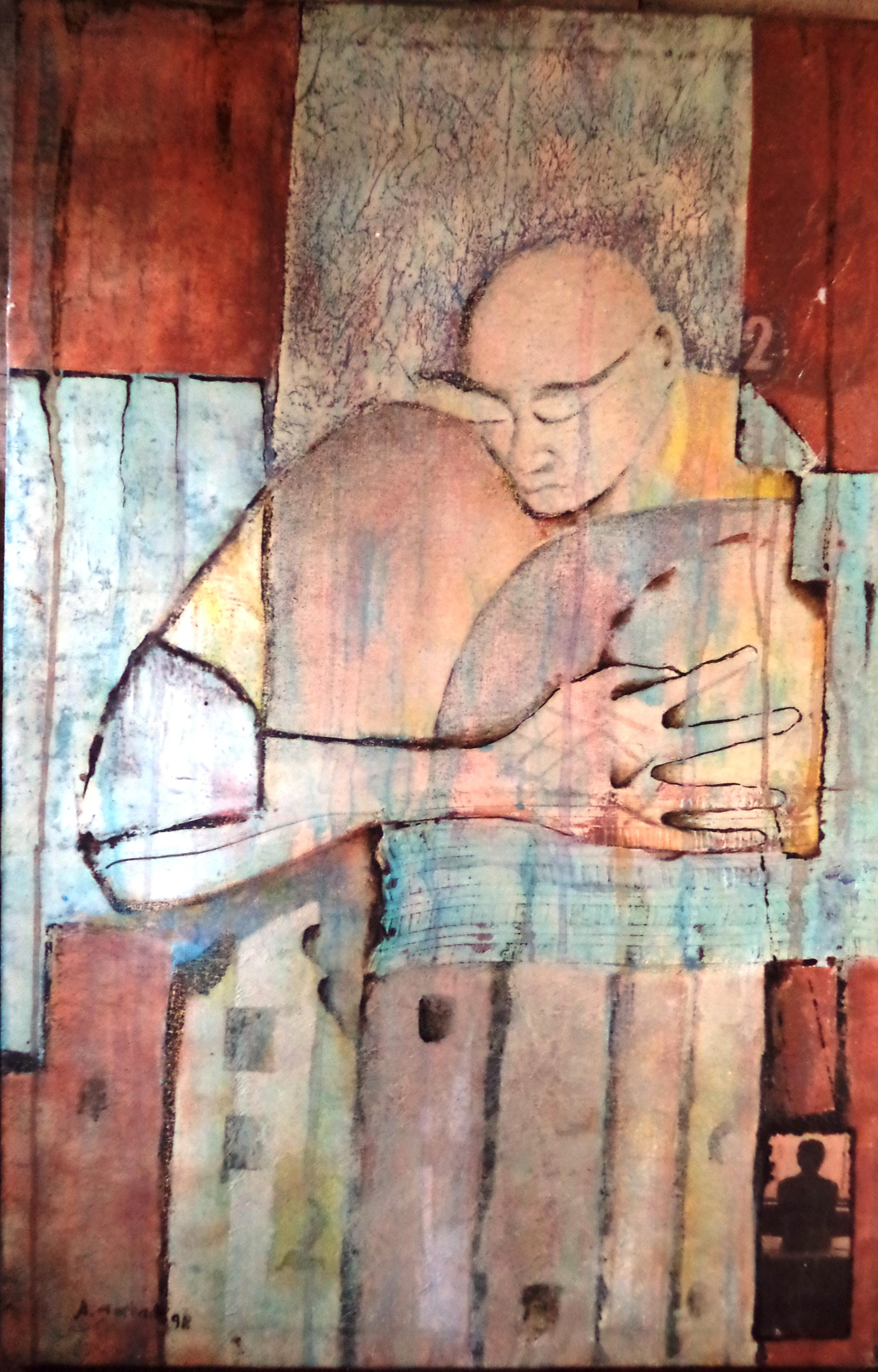 Antonio Morbach - S. título, 1998. Pintura acrílica,101.5X66.5