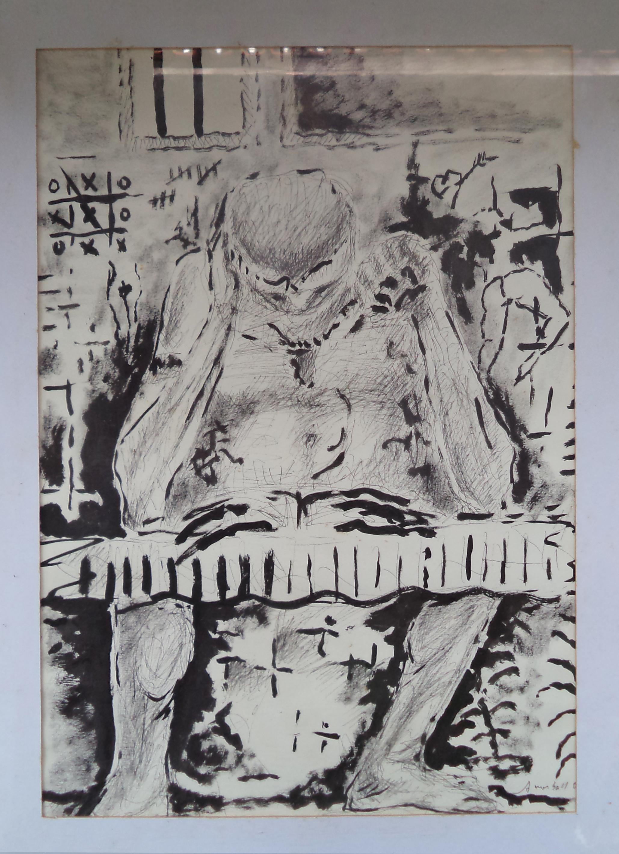 Antônio_Morbach_-_Leitura_II,_Série_Nanquim,_2007._Desenho,42x29.2